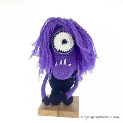 evil minion plush