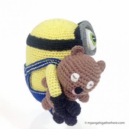 bob minion plush toy