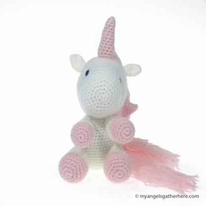 plushie unicorn pink