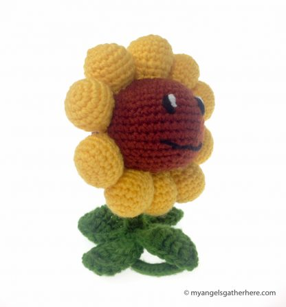 sunflower plushie