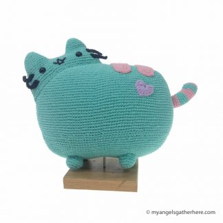 green pusheen plush
