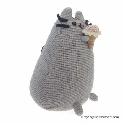 pusheen ice cream plush toy