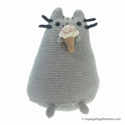 pusheen ice cream plush