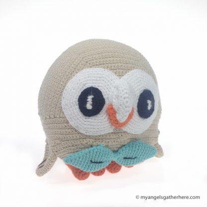 rowlet stuffed toy