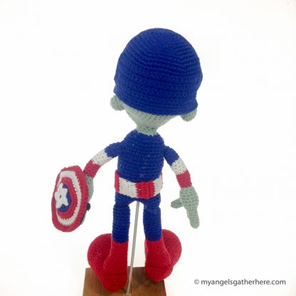 captain america stuffed toy