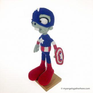captain america plushie