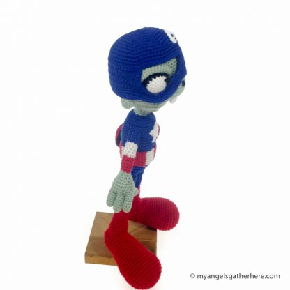 zombie captain america plush