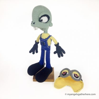 plush toy zombie minion