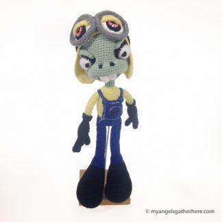 minion zombie plush