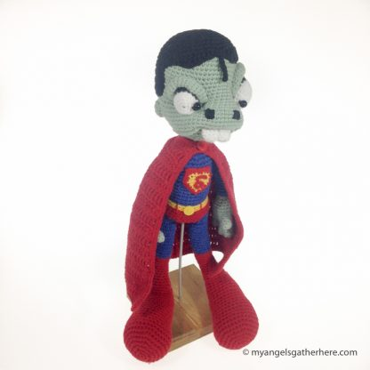 zombie superman plush