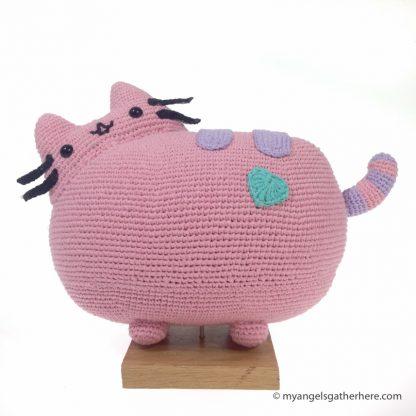 pink pusheen plush toy