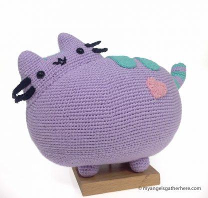 purple pusheen plush