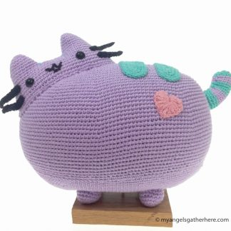 purple pusheen plushie