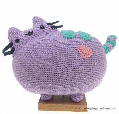 purple pusheen plushie