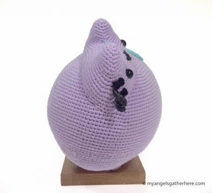 purple pusheen