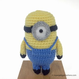 carl minion plush toy